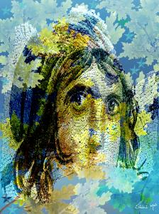 Gypsy Girl Mosaic